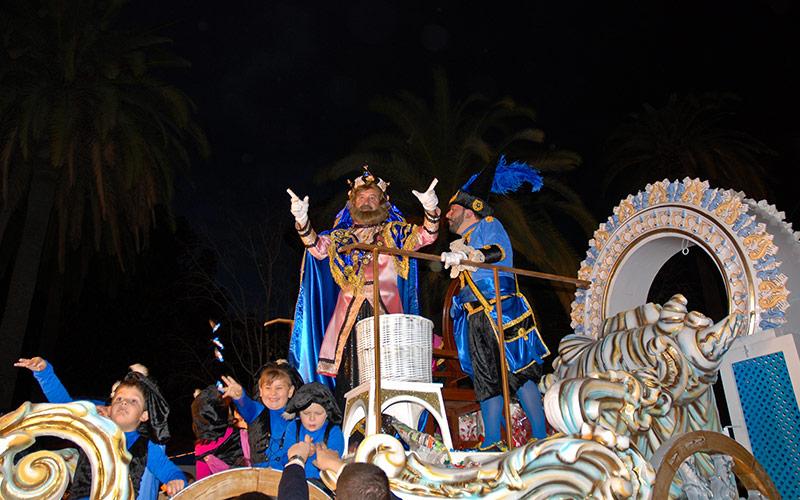 Cabalgatas de Reyes en España Málaga