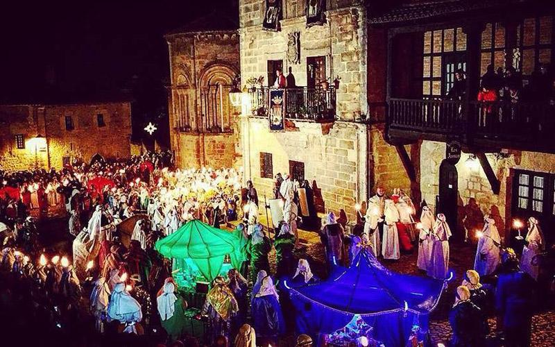 Cabalgatas de Reyes en España Santillana del Mar