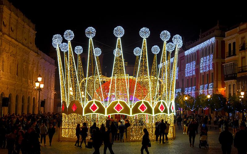 Cabalgatas de Reyes en España Sevilla
