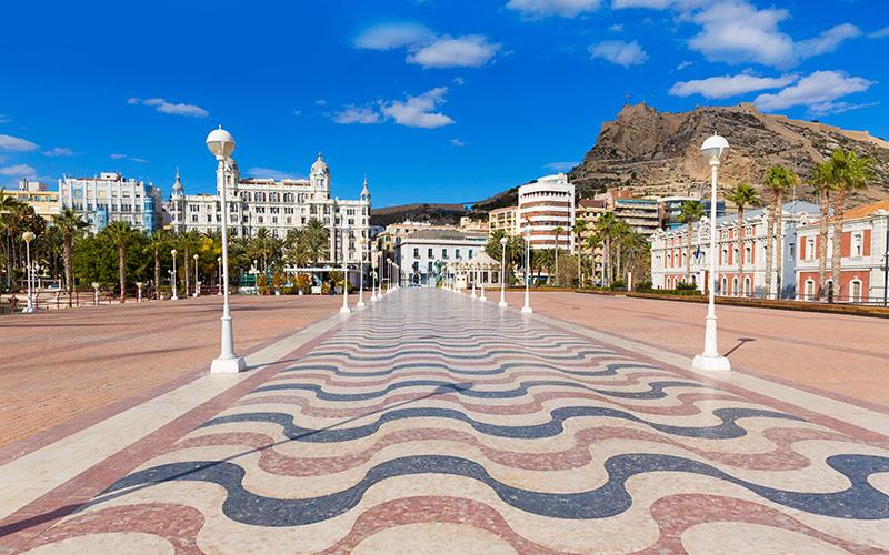 Paseos marítimos de España Alicante