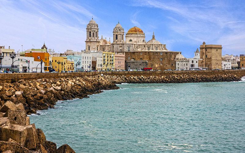 Paseos marítimos de España Cádiz