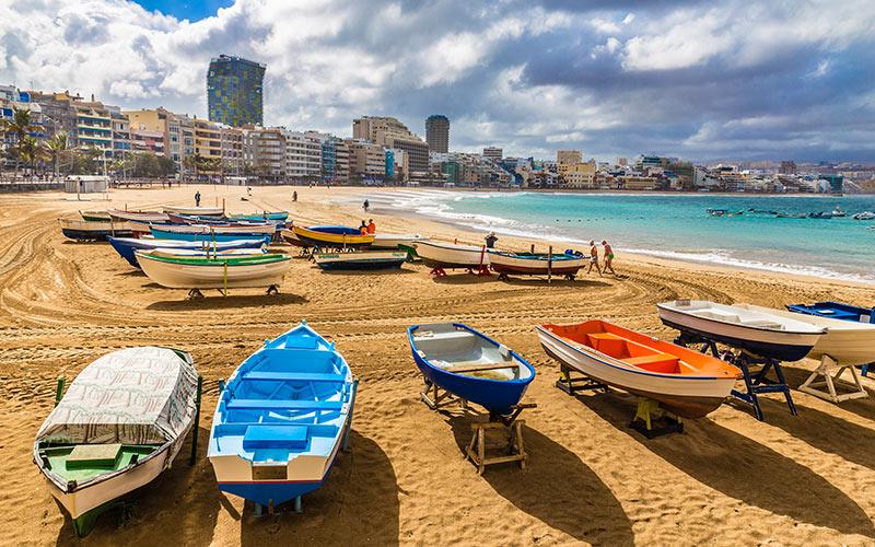 Paseos marítimos de España Las Canteras
