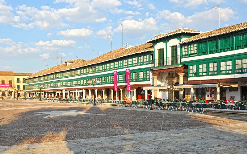 Plazas más coloridas de España Plaza Mayor de Almagro