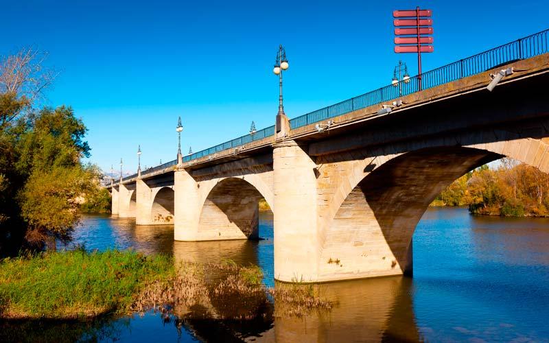 Gran puente que ver en Logroño