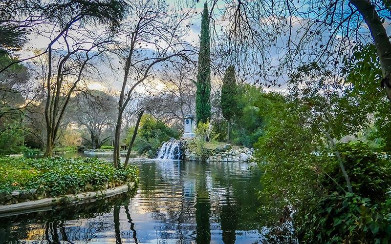 Planes gratis en Madrid. Parque El Capricho.