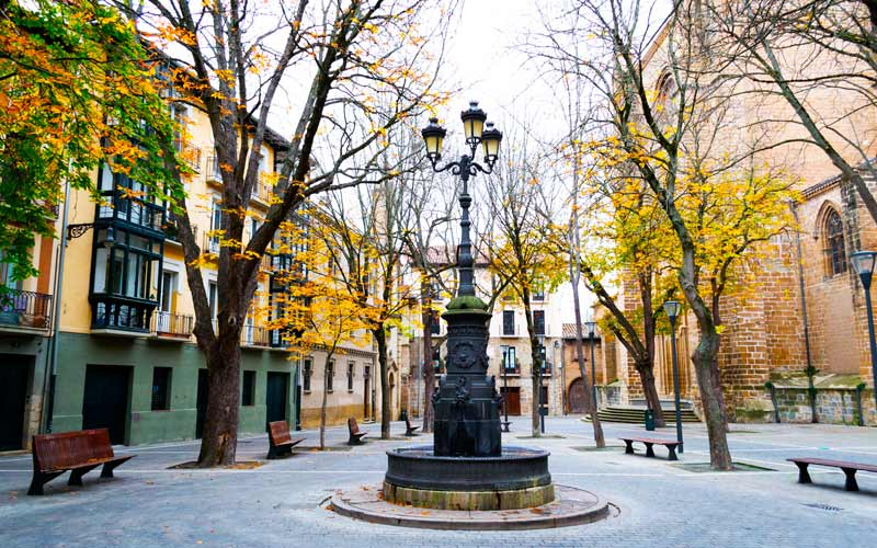 Plaza de San José en Pamplona