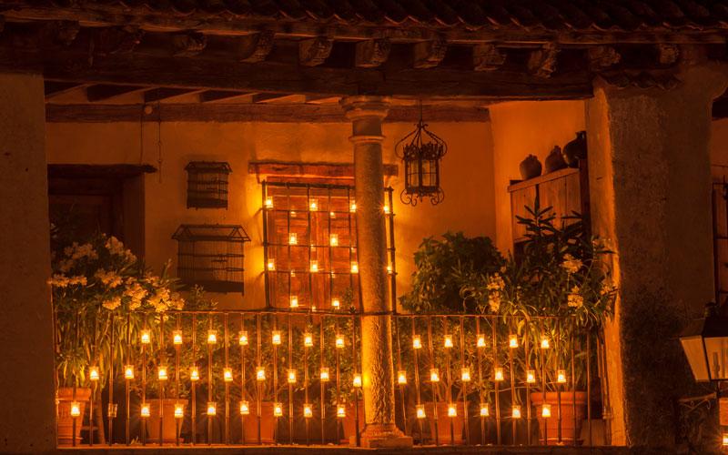 Concierto de las velas, Pedraza