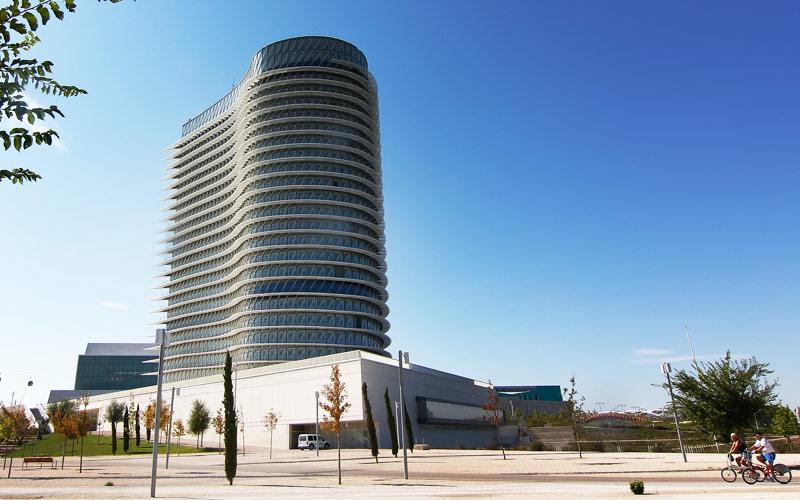 Torre del Agua en Zaragoza