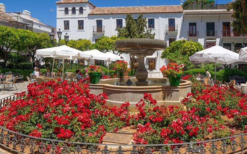 Qué ver en Estepona Plaza de las Flores
