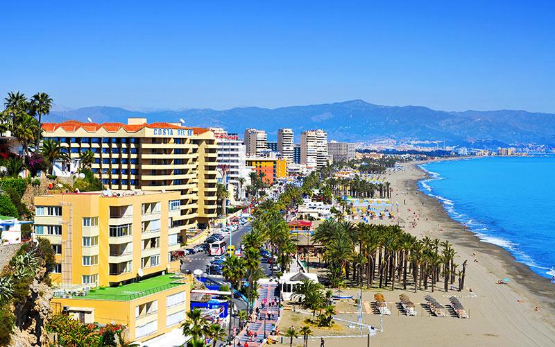 Qué ver en Torremolinos. Playa de El Bajondillo