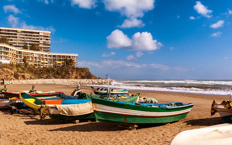 Qué ver en Torremolinos. Playa de La Carihuela