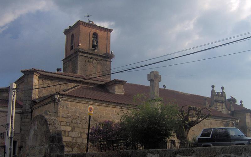 Iglesia de San Juan Bautista en Casa vieja