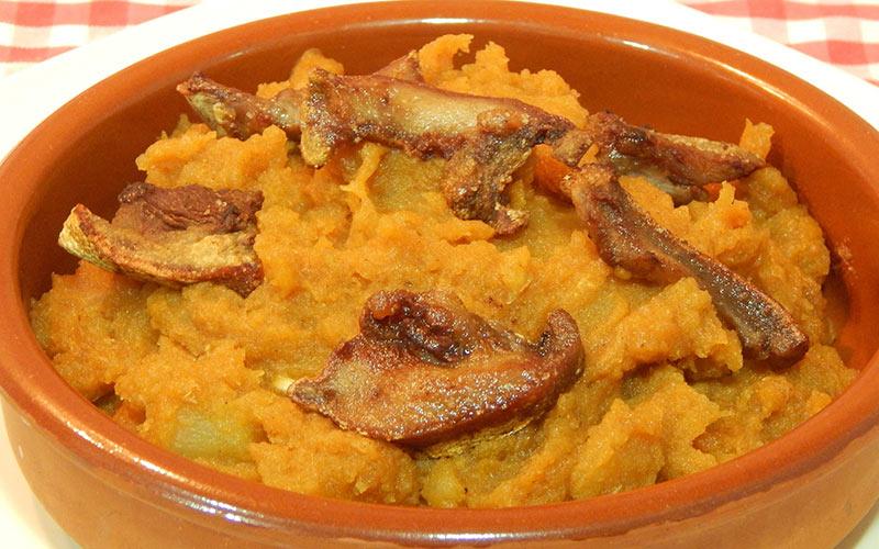 Patatas pelonas comida Casavieja