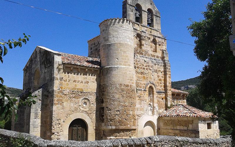 Iglesia de San Salvador en Escaño