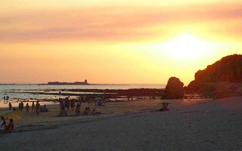 atardeceres en Cádiz