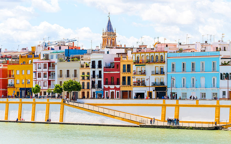 Barrios más coloridos de España