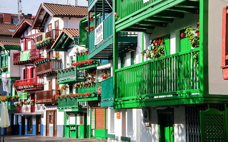 Barrios más coloridos de España.