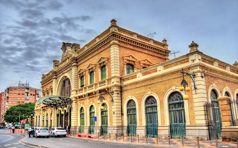 Estaciones de tren de España.