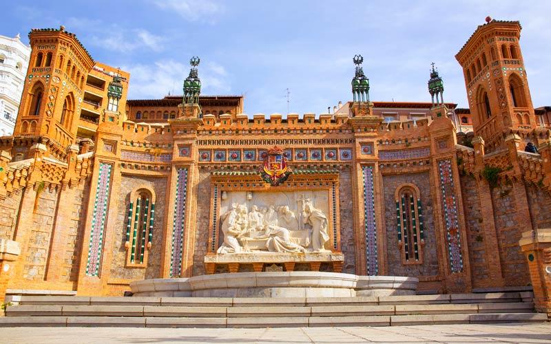 Qué ver en Teruel, pues su Escalinata
