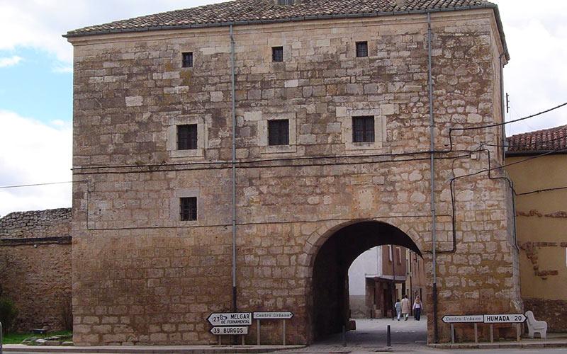 Arco de la Cárcel, Villadiego, Burgos