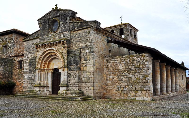 Osario de Wamba, Iglesia de Santa María