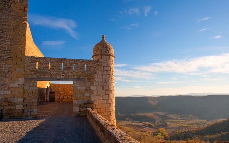 Murallas del Castillo de Morella
