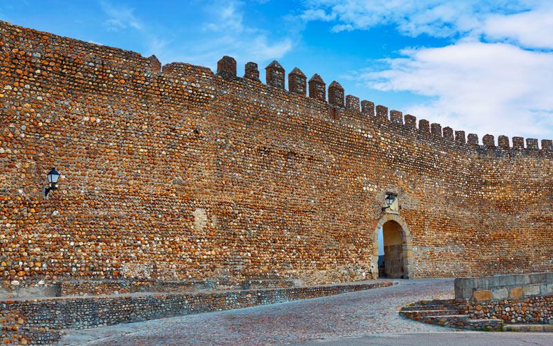 Muralla en Cáceres