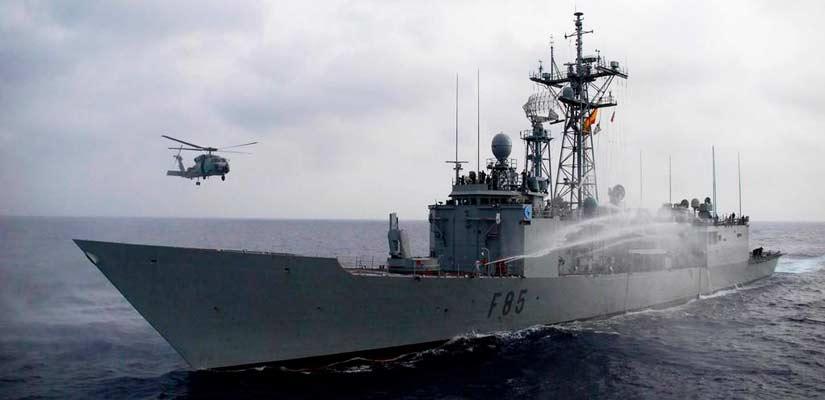 espana lucha terrorismo mar mediterraneo