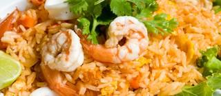 arroz gambas cala dor