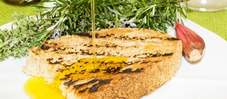 pan con aceite formentor