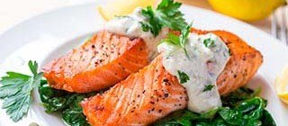 salmon tarragona