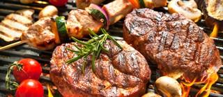 carne brasa hierro