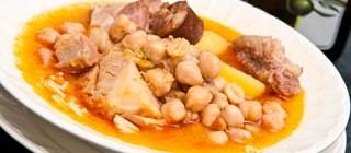 cocido lebaniego comer fuente de