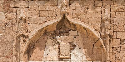 Escudo de Carlos I Alcazaba de Almería
