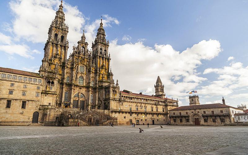 Plazas más espectaculares de España, Santiago de Compostela