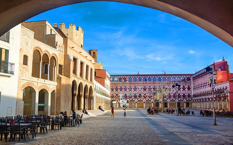 Plazas más espectaculares de España Plaza Alta Badajoz