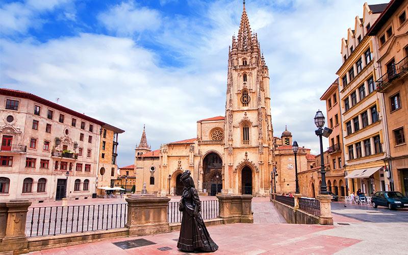 Plazas más espectaculares de España, Oviedo