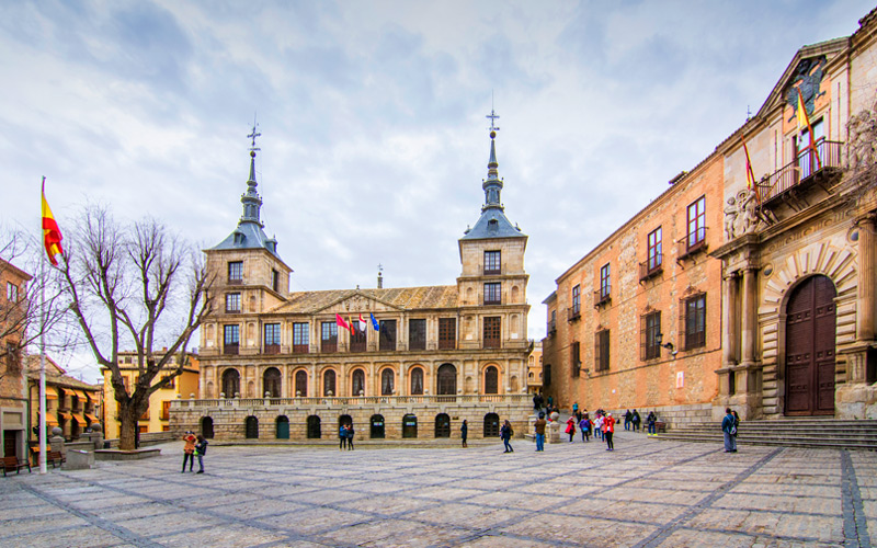 Plazas más espectaculares de España Toledo