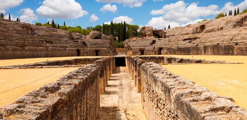 ruinas romanas en España y restos romanos andalucia