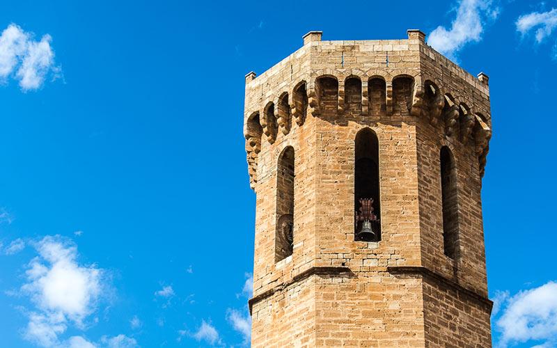 Torre de la Iglesia de la Asunción de Cariñena