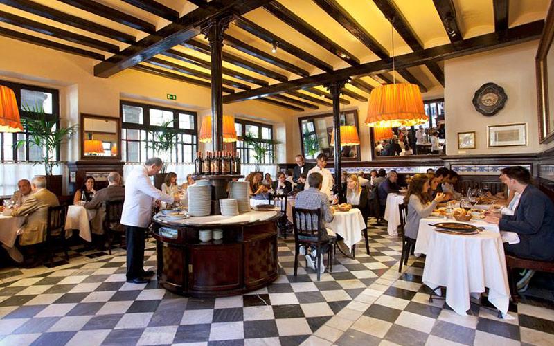 Restaurantes más antiguos de España 7 portes