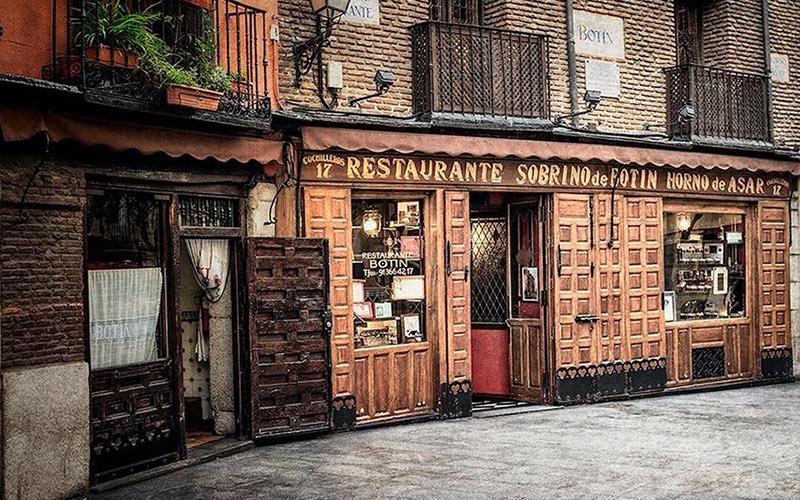 Restaurantes más antiguos de España Restaurante Botín