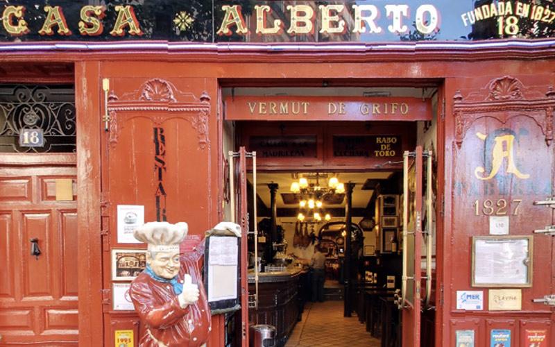 Restaurantes más antiguos de España Casa Alberto