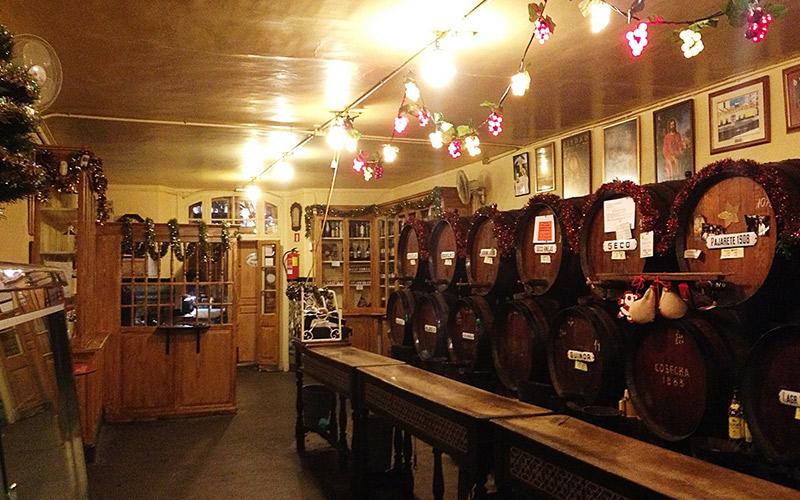 Restaurantes más antiguos de España Taberna Antigua Casa de Guardia