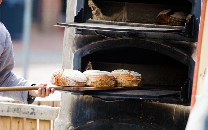 Celíacos: horno de pan