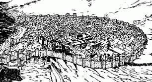 dibujo antiguo malaga