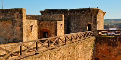 Vistas desde el Castillo de Niebla