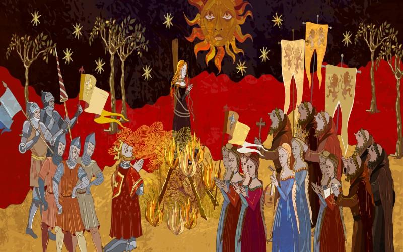 Pintura de la Inquisición