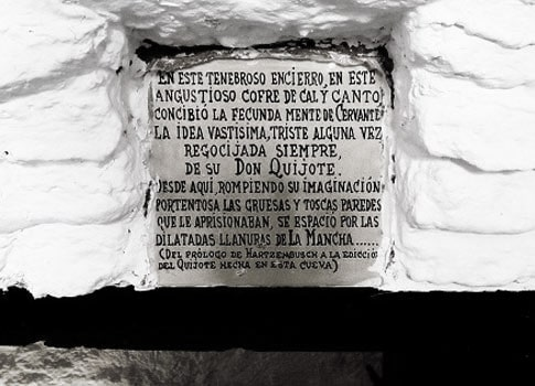 inscripcion cervantes cueva medrano