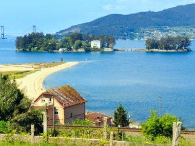 Isla de San Simón, un oscuro paraíso en la ría de Vigo